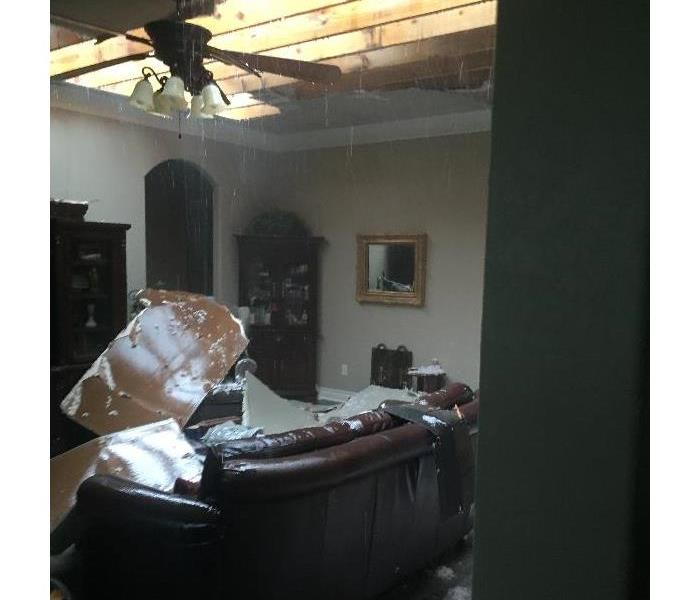 Water Damage to Texas Home