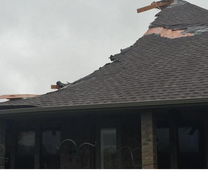 Roof Damage after Storm