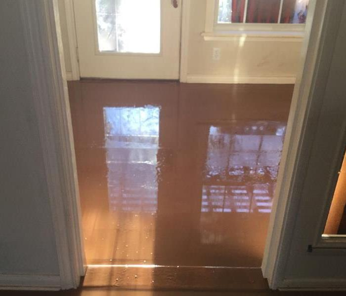 Water Damage in Temple, TX, Sunroom